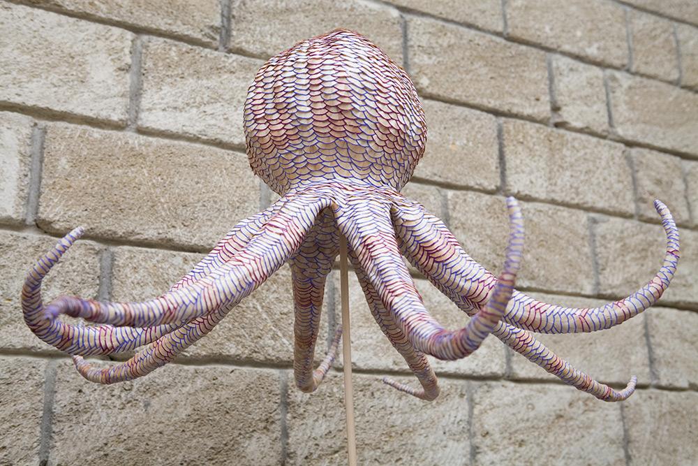 Морские организмы из карандашей от Jennifer Maestre