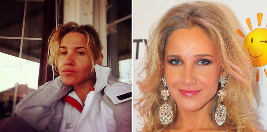 11. Юлия Ковальчук Практически все читатели блога звезды, в котором она выложила свое фото без макия