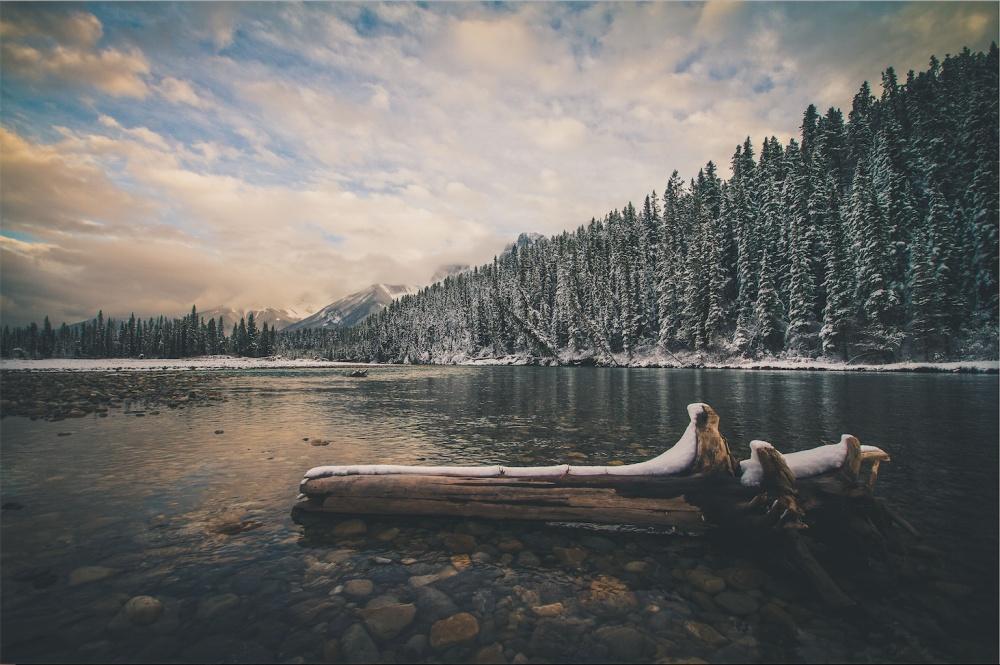 © Juuso Voutilainen/REX/Shutterstock  Озеро впровинции Альберта, Канада.