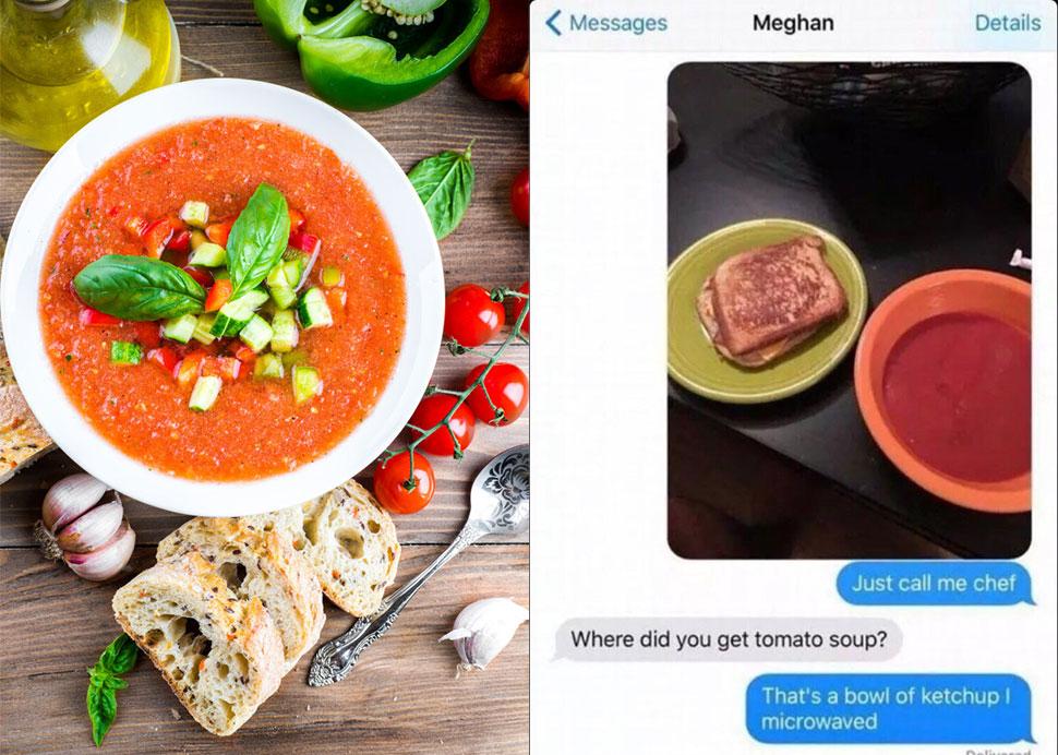 Гаспачо Ни один регион мира не может присвоить себе изобретение томатного супа. Но в испанской прови