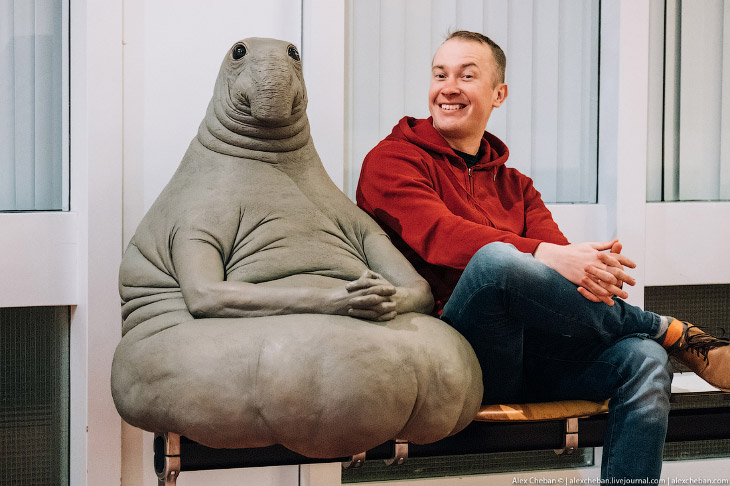Фотографии и текст Алесандра Чебана   1. Настоящая скульптура голландской художницы Маргрит