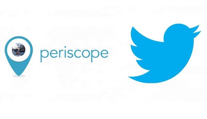 В Твиттер появились трансляции панорамных видео