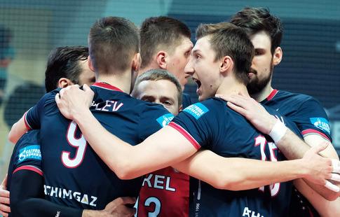 Волейболисты «Факела» вновь победили «Шомон» изавоевали Кубок вызова