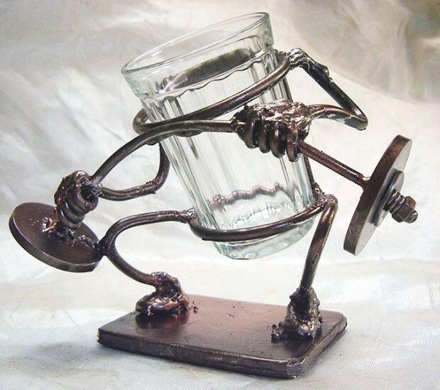 Жизнь стаканов (фото)