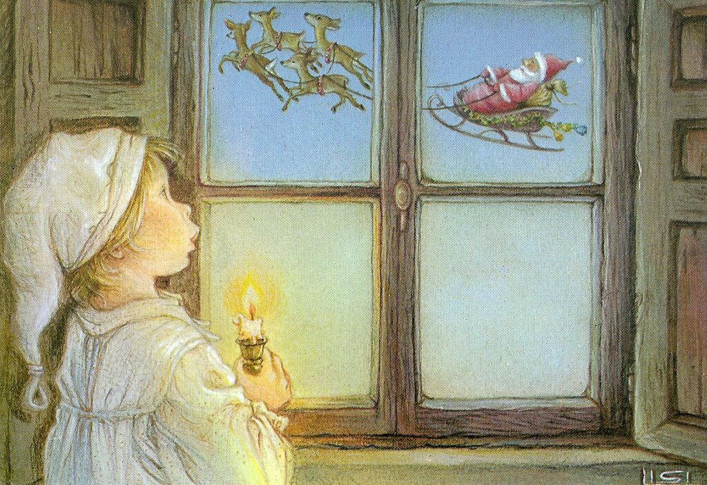 В ожидании новогоднего чуда открытки