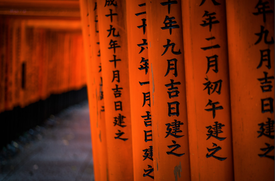 Awesome and Colored Photographies of Kyoto
