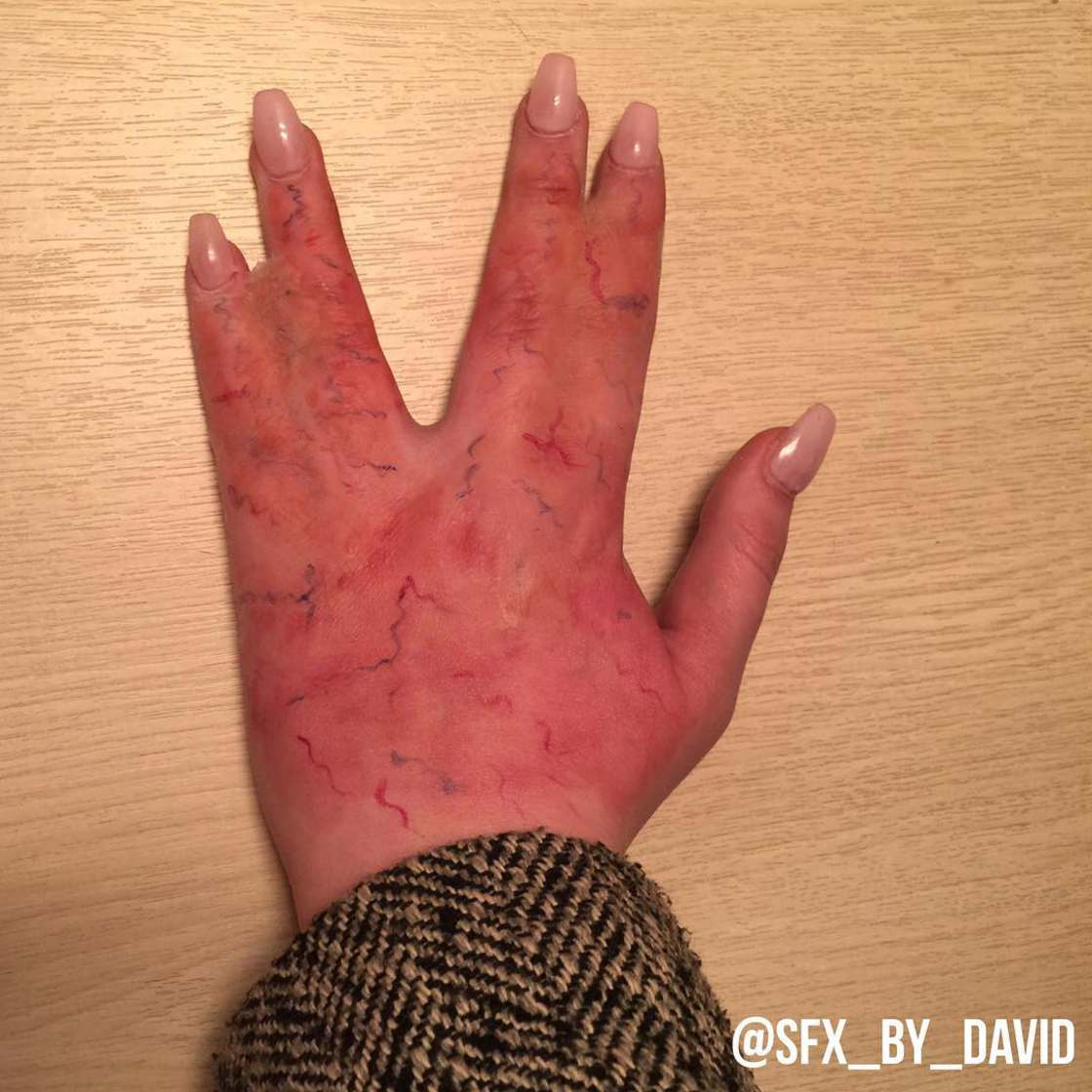 Instagram Horror - The way too realistic makeup from SFX by David