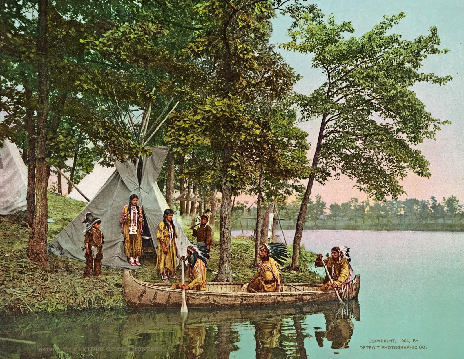 The return of the hunters, ca. 1904.jpg