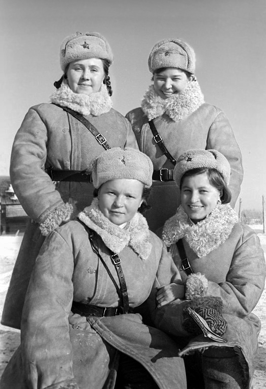 Traffic controllers, Wolchow Front,  01.01.1943