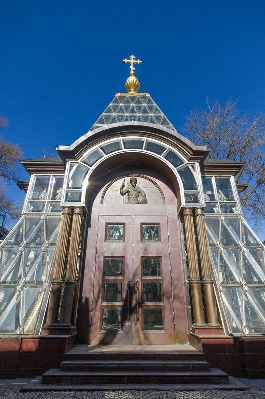 Хрустальная часовня, Музей современного искусства, Москва