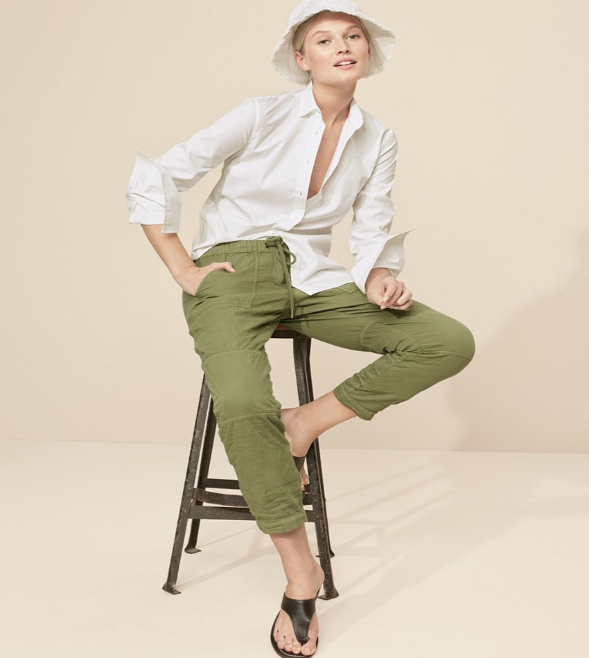 Toni Garrn - J. Crew Neutrals Spring 2017 Lookbook