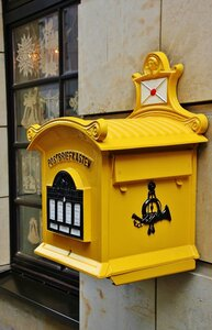 Первый в Европе почтовый ящик