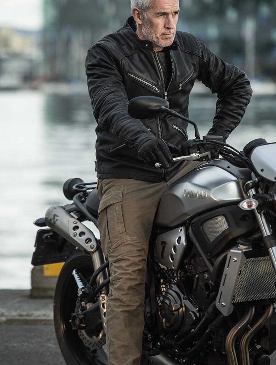 Классическая мотокуртка Spidi Metal 2017