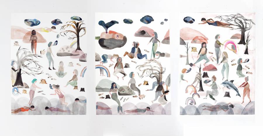 Dreamlike & Hypnotic Watercolors