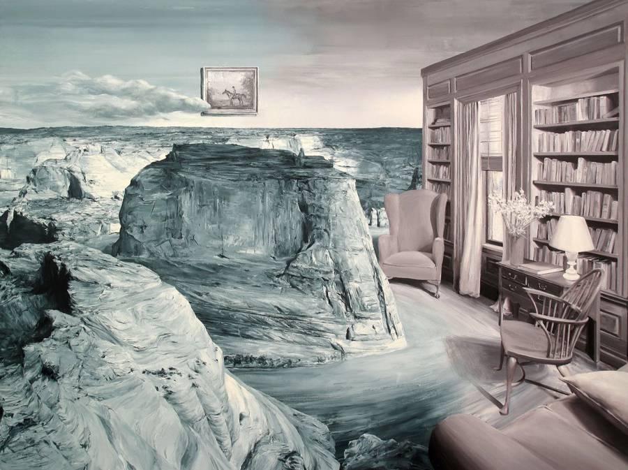 Surreal Vintage Landscapes Paintings