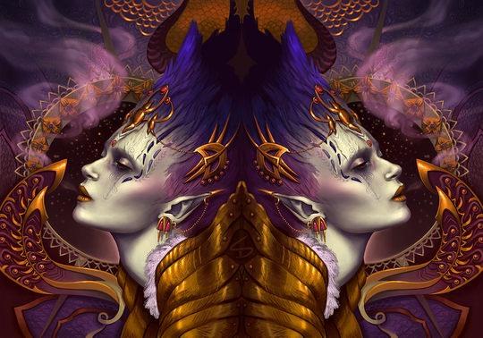Stunning Digital Art by Sara K. Diesel