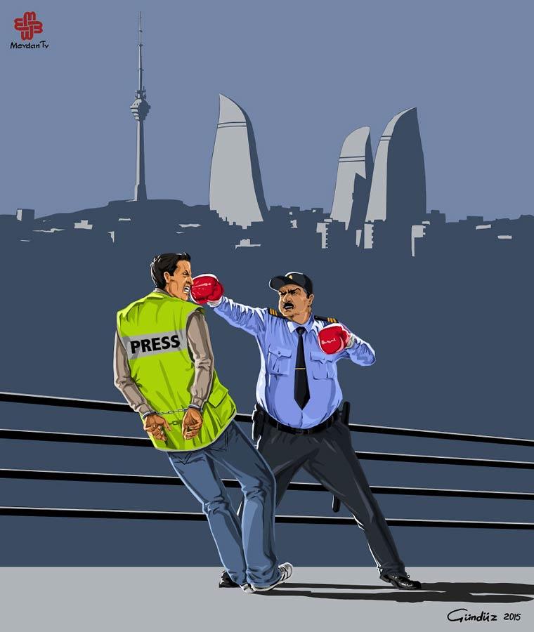 Global Police - Des illustrations satiriques sur les cliches de la police a travers le monde