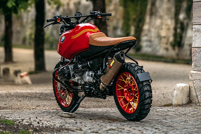 NCT Motorcycles: скрэмблер BMW R1150GS Red Rooster