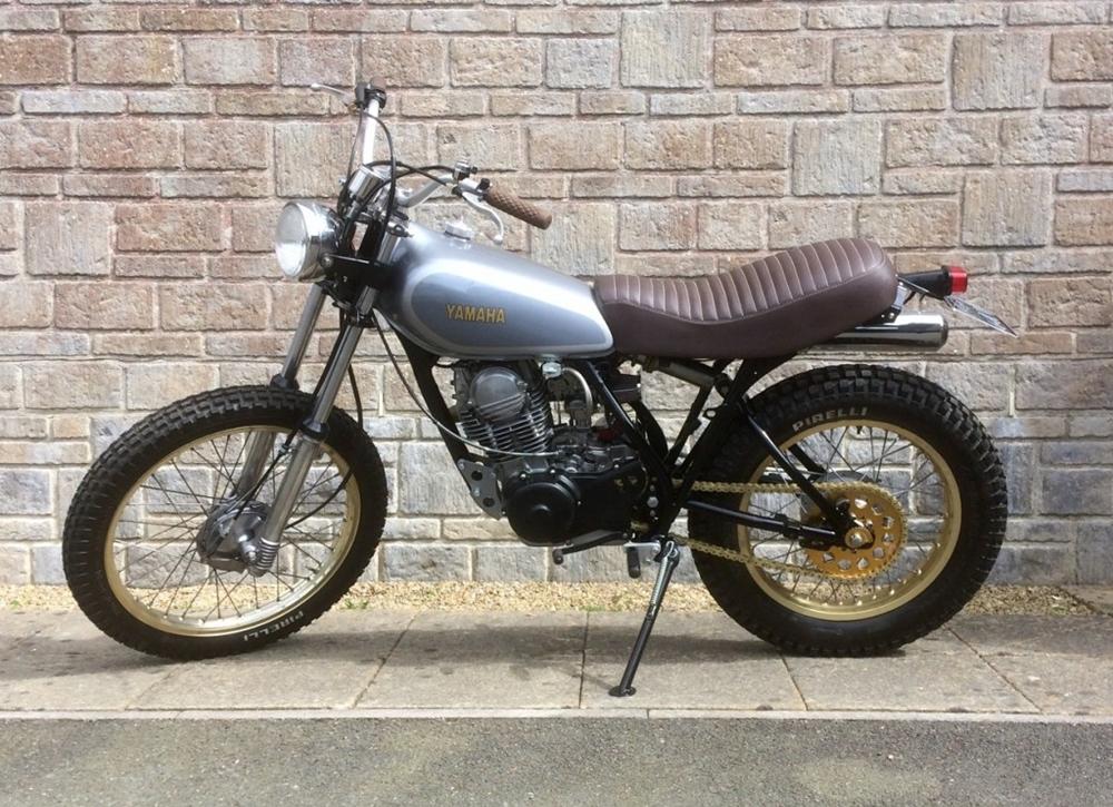 Скрэмблер Yamaha XT250