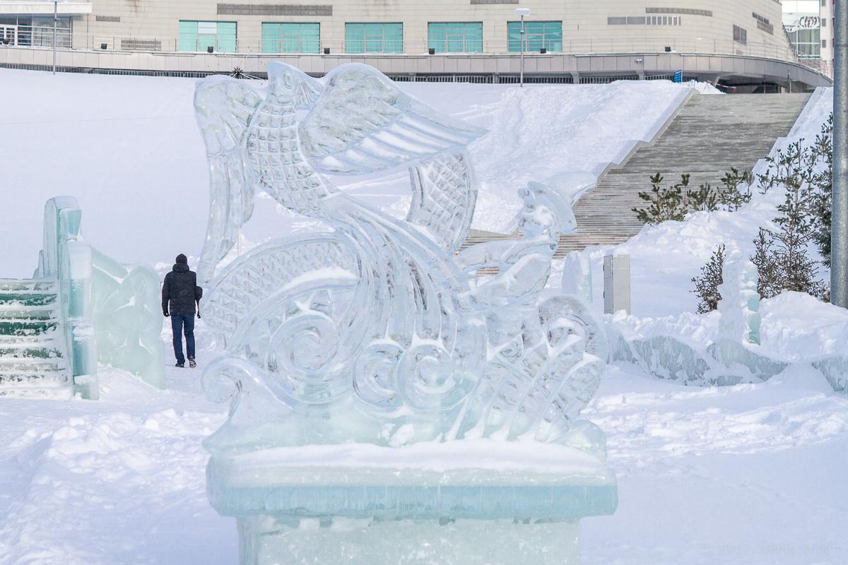 Парк Ватан Уфа зима фото 7