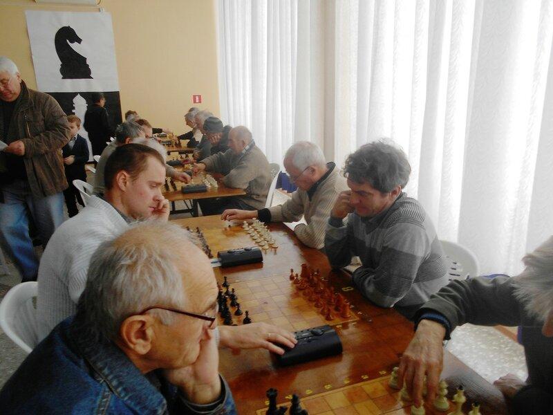 В начале ... Шахматный турнир. Выселки. Декабрь 2016