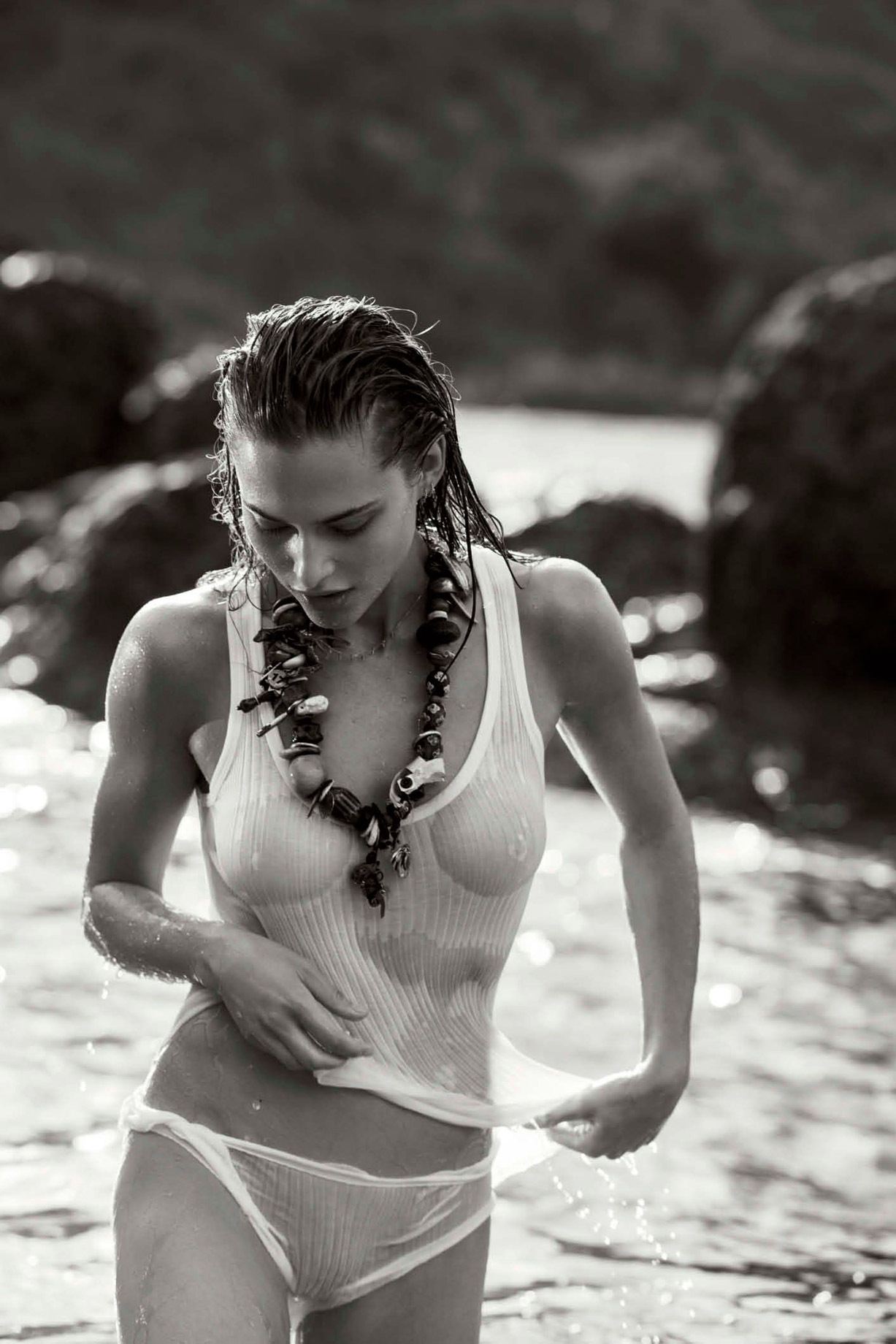 Лана Закосела / Lana Zakocela by Gilles Bensimon - Maxim US may 2017