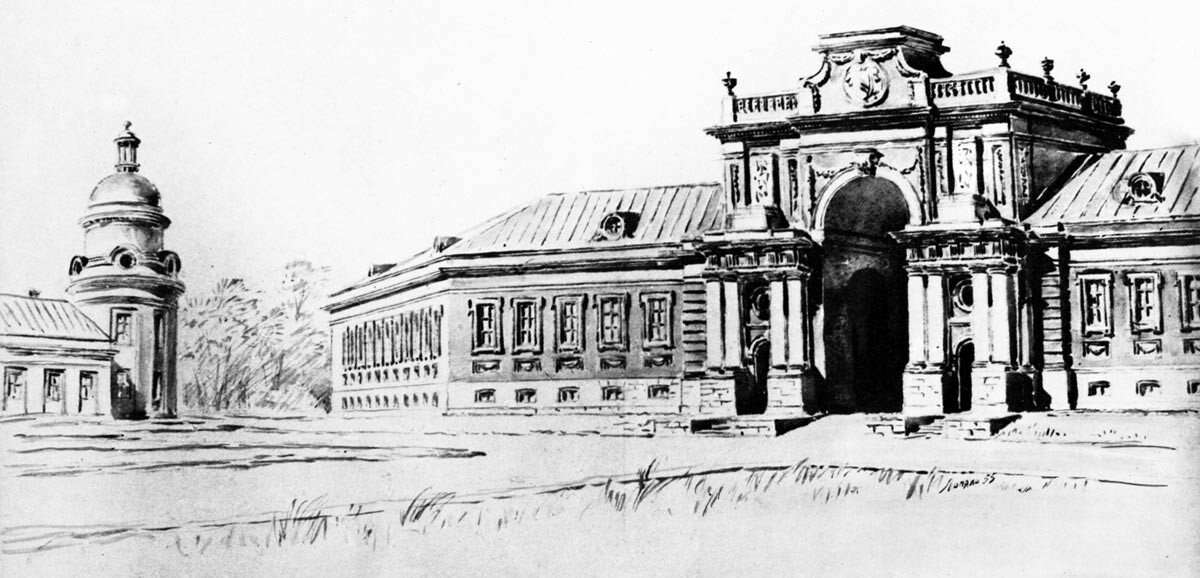 Триумфальная въездная арка в Петровском-Разумовском (по материалам И. Грабаря).jpg