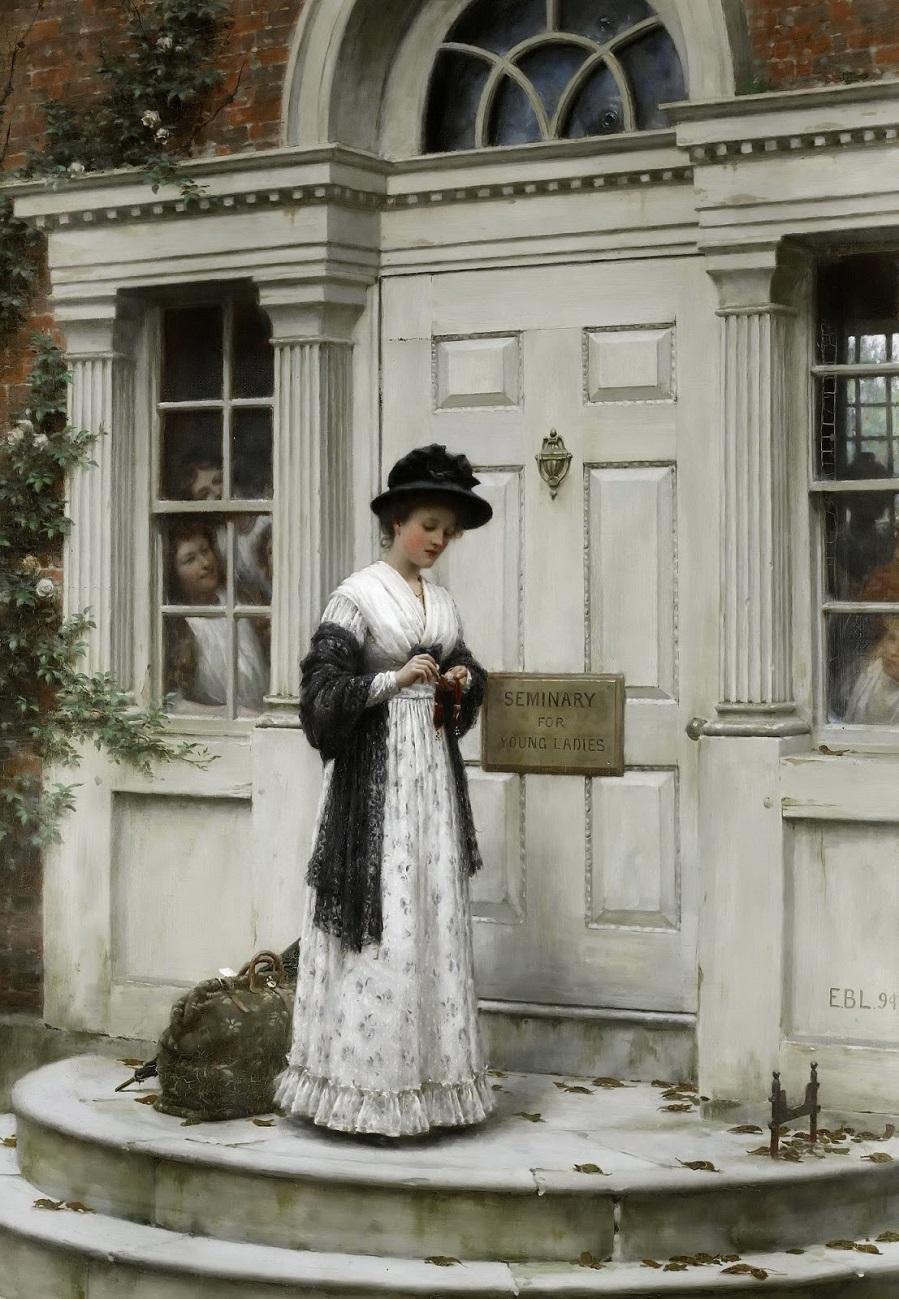 1894 Новая гувернантка (The New Governess) Частное собрание.jpg