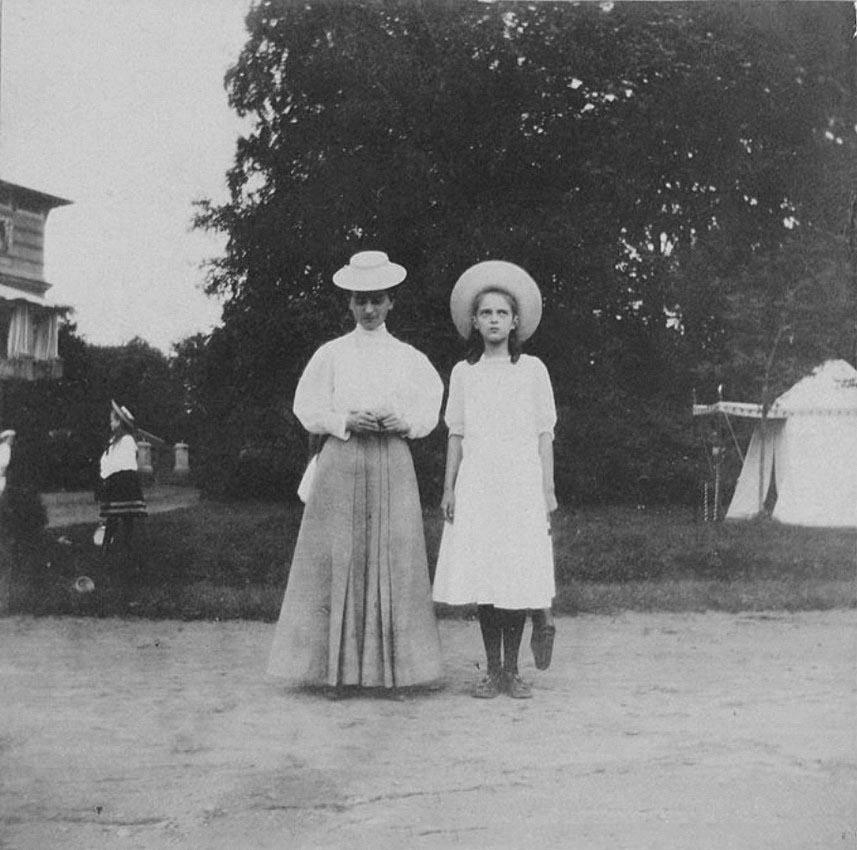 1908. В Нижней даче