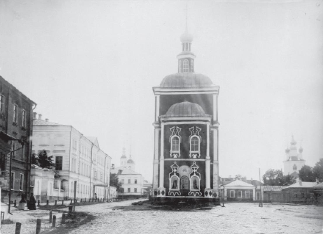 Сергиевская церковь. Вид с юго-востока. 1909-1917