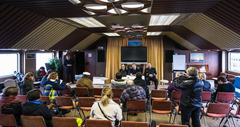 Пресс-конференция круизной компания Мостурфлот