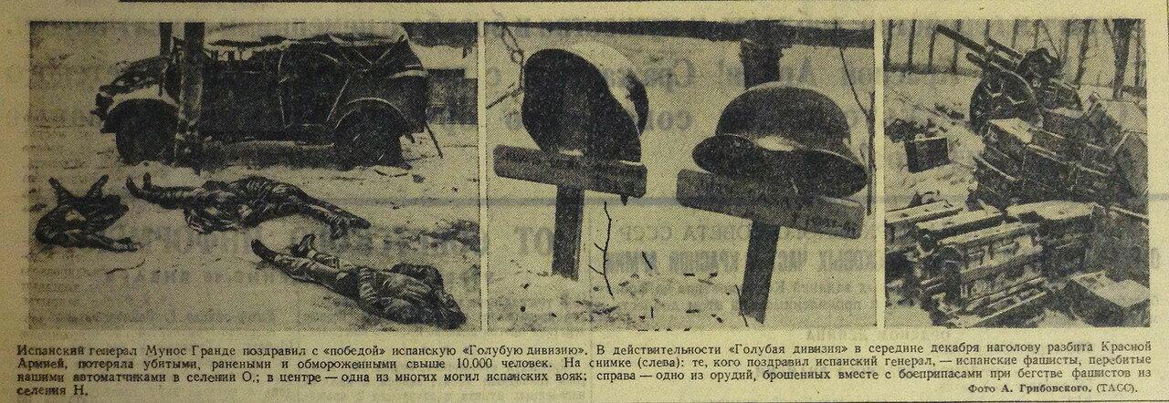 Голубая дивизия, Испания в ВОВ