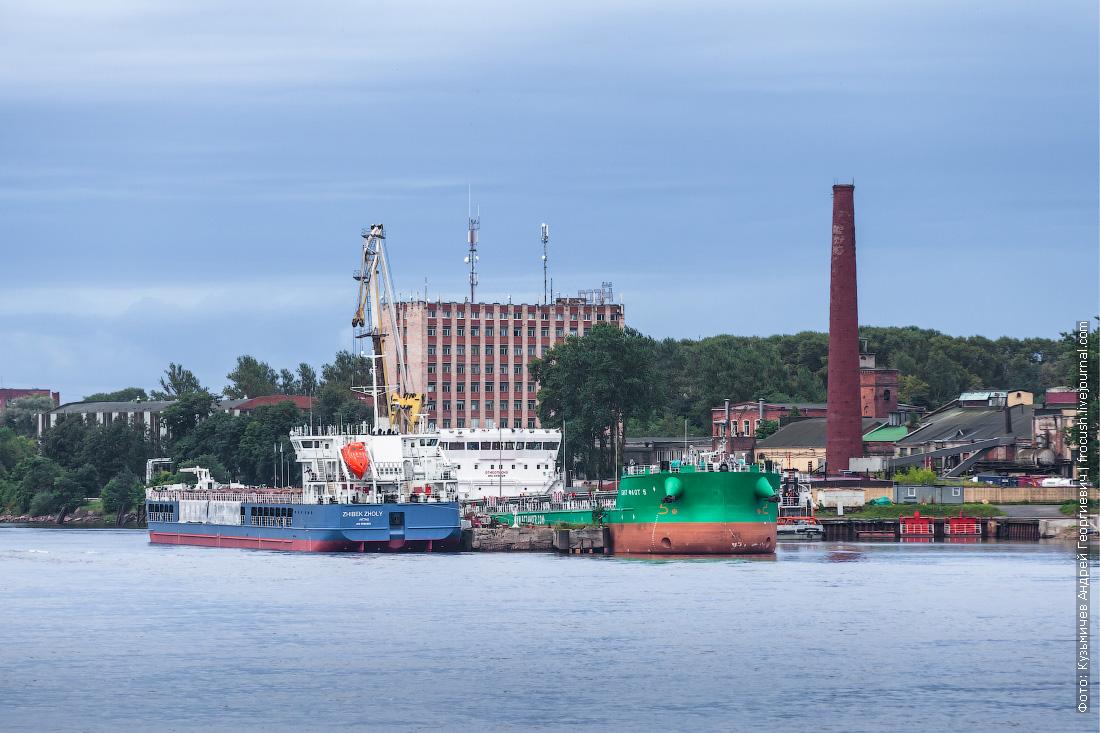 Невский судостроительно-судоремонтный завод в Шлиссельбурге