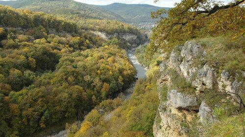 Ущелье Мишоко в горах