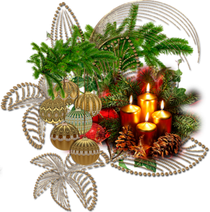 Рождественские свечи