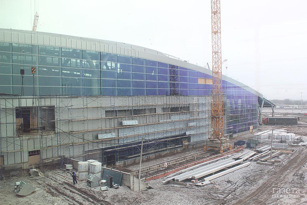 Фоторепортаж: Строительство аэропорта «Платов»