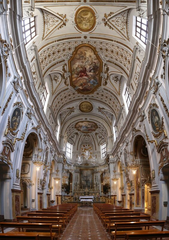 Palermo. The Church of St. Ursula (Chiesa di Sant'orsola)