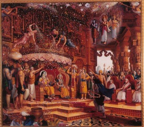 Поклонение Радхе-Кришне