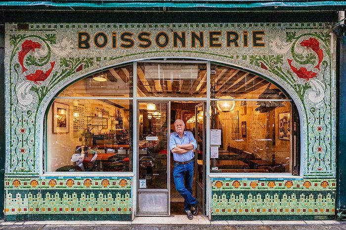Фасады магазинов Парижа и их владельцы: проект Sebastian Erras