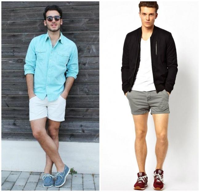 © wardrobelooks.com  © http://canzoneperilvento.blogspot.com  Мужские шорты выше колена