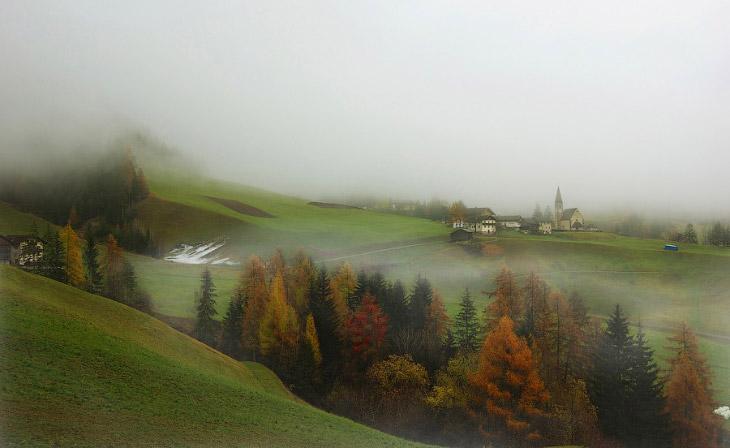 Фотографии и текст Петра Косых   Мне посчастливилось побывать в Доломитовых Альпах два раза