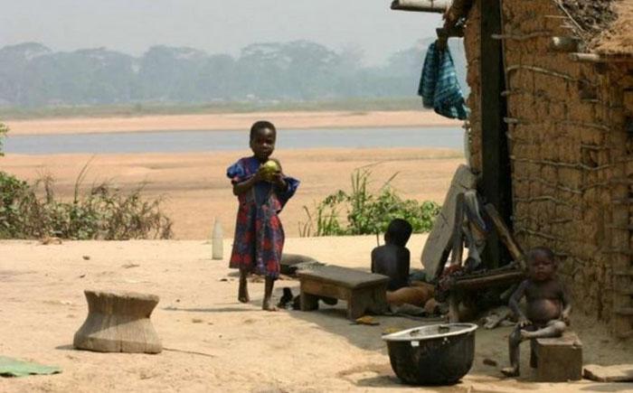 9. Демократическая республика Конго, $655 В Конго проживает 77 миллионов человек и хотя эта страна в
