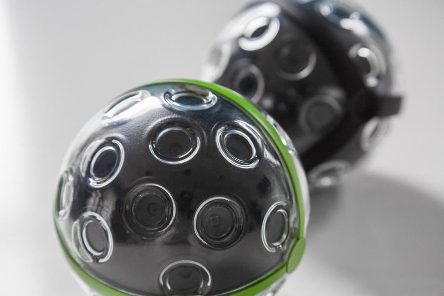 Panono: Камера-мяч для съёмки панорам на 360° (1 фото)