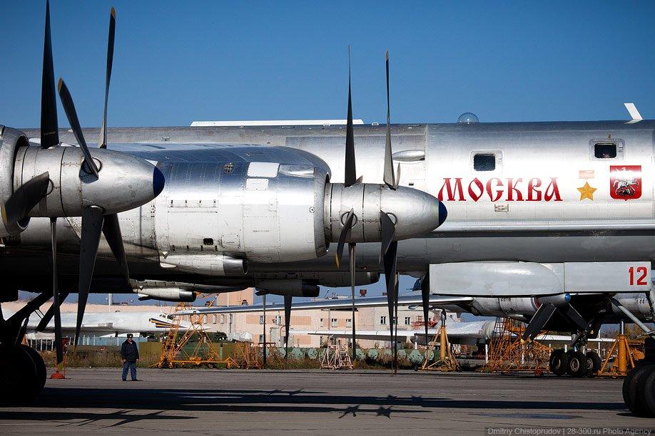 Кабина Ту-95мс: