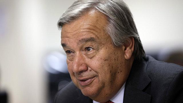 Будущий генеральный секретарь ООН Гутерриш приедет в российскую столицу вконце ноября