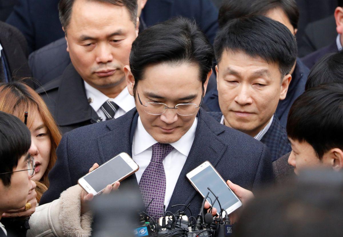 Суд вЮжной Корее отказал вордере наарест руководителя Самсунг