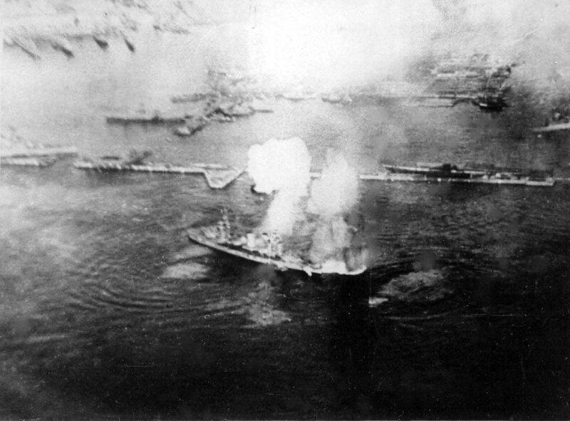 Линкор Балтийского флота «Октябрьская Революция»