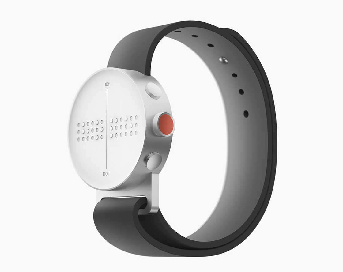 DOT Braille Smartwatch - An innovative watch for the visually impaired!