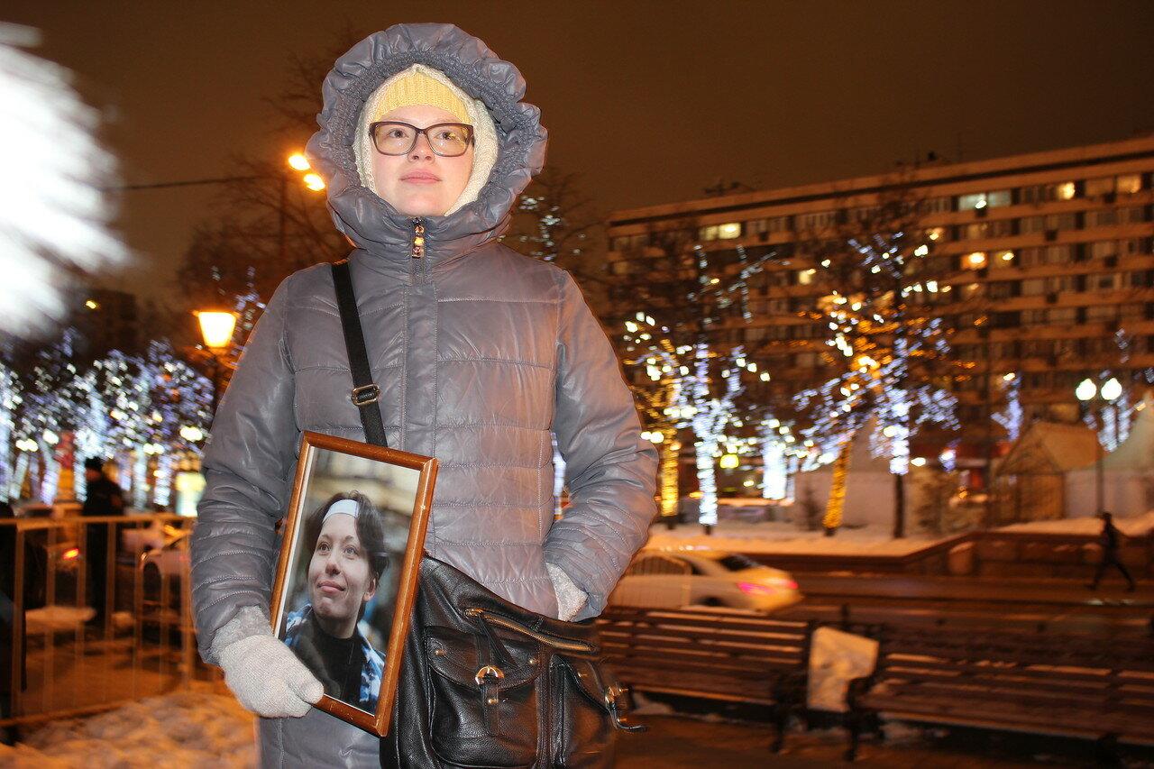 корреспондентка «Новой газеты» Бабурова