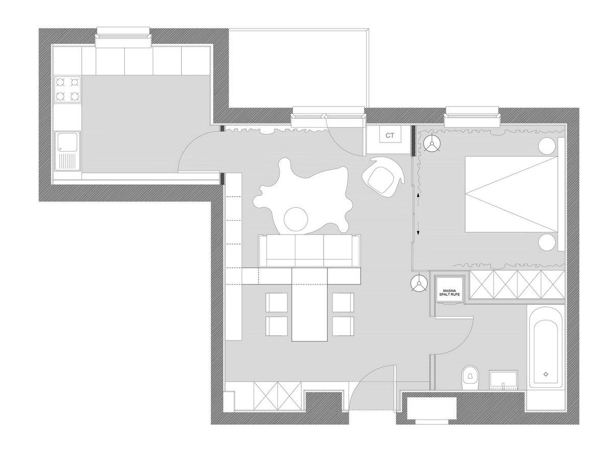 Уютные апартаменты в Бухаресте